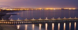 Ventura Pier At Night