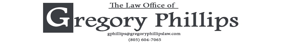 Ventura Personal Injury Attorney & Criminal Law Lawyer | Gregory Phillips